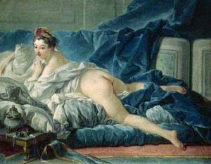 Boucher's Odalisque Painting
