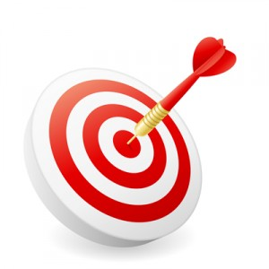 target arrow bulls eye, The Myndset Digital marketing leadership