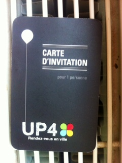 UP4, Carte d'invitation, The Myndset Digital Marketing Minter Dialogue