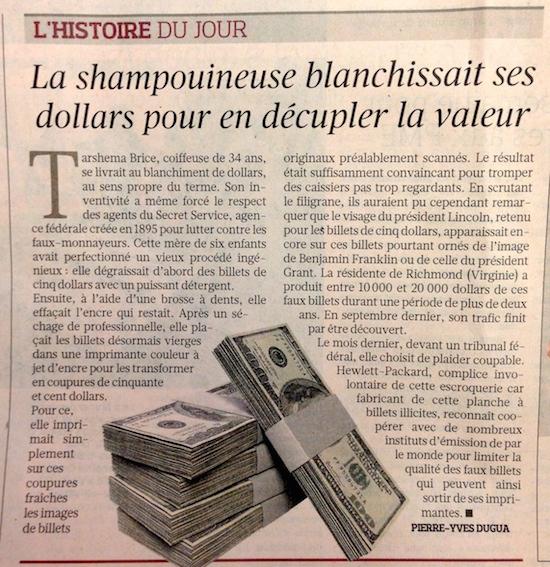Histore de Coiffure - Le Figaro